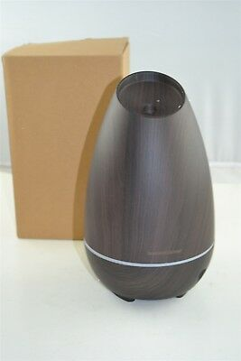 InnoGear 2019 500ml Aromatherapy Essential Oil Diffuser Wood Grain Aroma