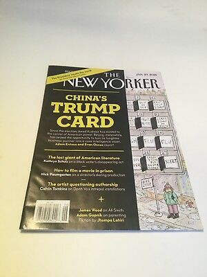 The New Yorker Chinas Trump Card Jan 29 2018 Issue
