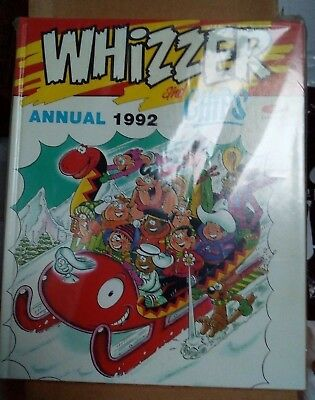 Whizzer and Chips Annual 1992 VF+