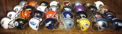 """NEW NFL Mini Helmets 32ct COMPLETE SET 2"""" Gumball All Teams Collectible Football"""