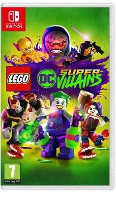 LEGO DC Super Villains SWITCH- Brand new And Sealed