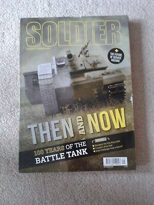 Soldier Magazine September 2016 read once on train 100 years of the Battle Tank