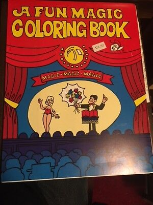 MORRIS A FUN Magic Coloring Book