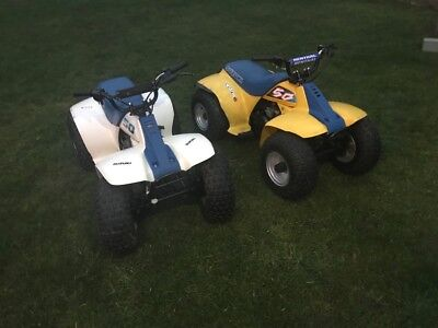 2 Suzuki lt50 childrens quads *WILL SELL SEPERATE*