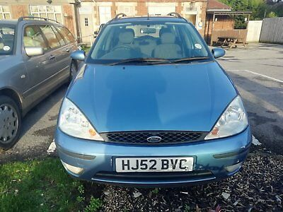 Ford Focus 1.6 Estate 2002 52 plate