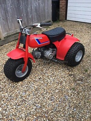 Honda ATC 70 Trike Great Original Condition 1983