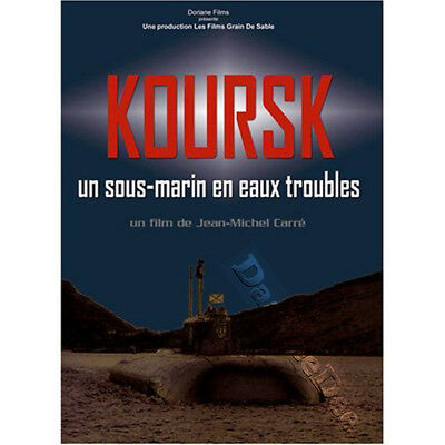 Kursk: A Submarine in Troubled Waters NEW PAL Documentary DVD Jean-Michel Carré