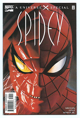 UNIVERSE X SPECIAL SPIDEY #1 NM/NM+ 9.6 NOT RECALLED Unread RARE MARVEL HTF