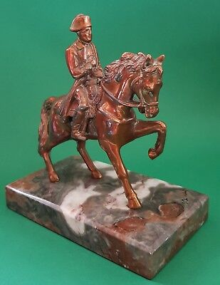 Antique Napoleon On Horseback Figure