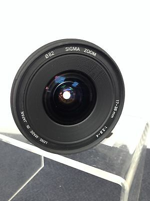 SIGMA EX D ASPHERICAL 17-35 mm F1:2.8-4 Canon Fit - Good Condition #915