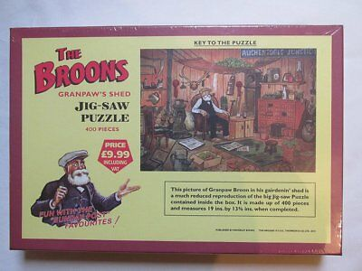Dc Thompson - The Broons Jigsaw - Granpaw's Shed.