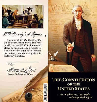 Pocket Size Constitution+Bill of Rights+Declaration of Independence NEW