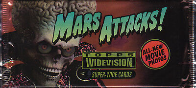 MARS ATTACKS! - Widevision Movie Trading Cards Packs (20) by Topps #NEW