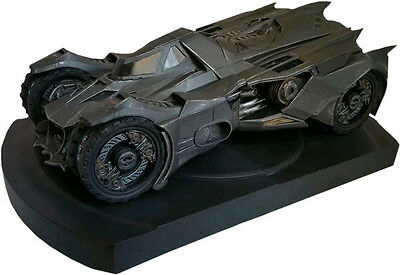 "BATMAN: Arkham Knight - 5.75"" Batmobile Polystone Bookend (Icon Heroes) #NEW"