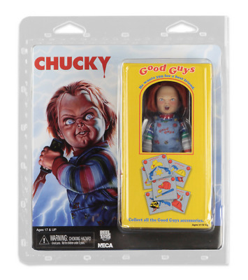 """CHILD'S PLAY - Chucky 8"""" Scale Clothed Action Figure (NECA) #NEW"""
