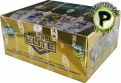 NRL 2013 RUGBY LEAGUE - Elite Trading Cards ~ Sealed Box (24ct) & Album #NEW
