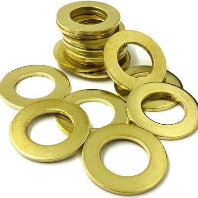 M2.5 M3 M4 M5 M6 M8 Brass Washers Form A Thick Washer To Fit Machine Screws