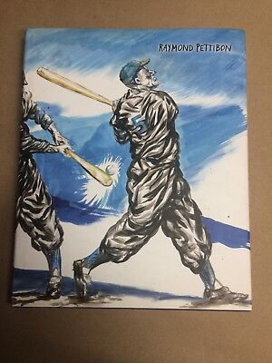 Raymond Pettibon book Art Signed Sketch Drawing Cac Malaga Painting Baseball