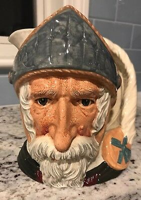 *MINT* 1956 Royal Doulton Large Don Quixote Character Toby Jug D6455