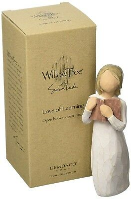 Willow Tree hand-painted sculpted figure, Love of Learning