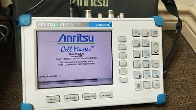Anritsu MT8212B CellMaster Many Options Tested Good! READ!!