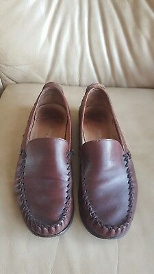 Russell & Bromley vintage slip on loafers Shoe UK 7.5 EU 41 Italy full leather