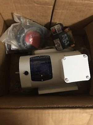 BALDOR 3HP WASHDOWN MOTOR With Extras
