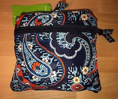 9c2f0f4f36 NWT Vera Bradley MARRAKESH BACKPACK IN A POUCH Compact Collapsible Shop  Travel
