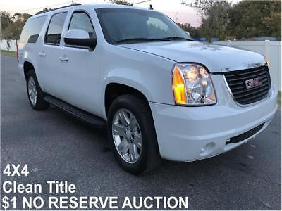 2012 GMC Yukon SLT 2012 GMC Yukon XL SLT $1 NO RESERVE AUCTION