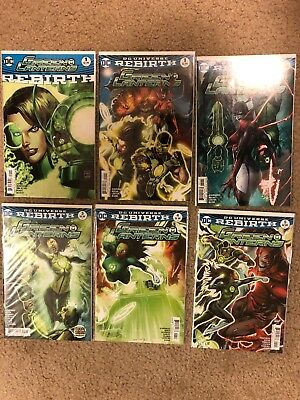 Green Lanterns Rebirth #1 #1, 2,3,4,5 (6 Total Books)  DC Rebirth NM