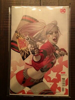 Harley Quinn #57B Tedesco Variant- 2019 DC - Sold Out! !!HOT!! NO RESERVE!