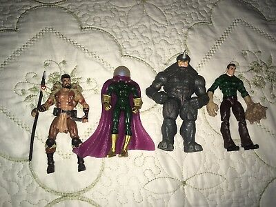 Marvel Universe Spider-Man Villains Action Figure Lot Loose