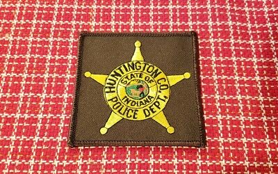 Huntington County Indiana Police Shoulder Patch