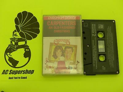 Carpenters an old fashioned christmas - Cassette Tape