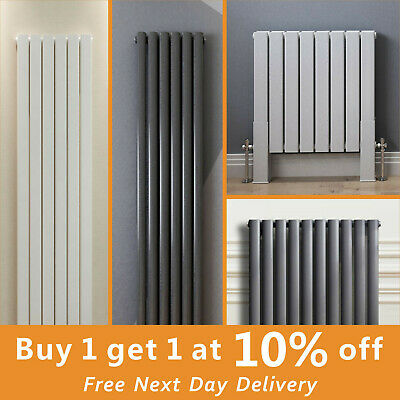 Flat Panel Oval Column Radiator Vertical Designer Heating Radiators