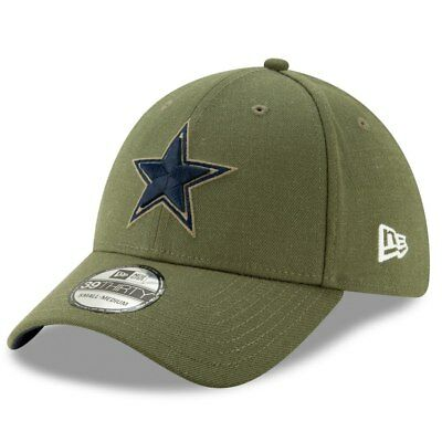 NFL DALLAS COWBOYS Salute to Service Hat Cap New Era Stretch Fitted ... 237675cbf5b4