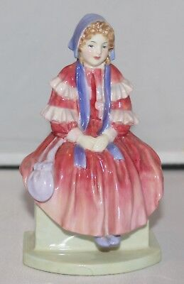 "Royal Doulton Figurine ""forget Me Not"" Hn 1813"