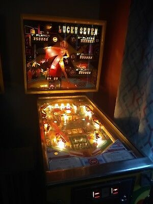 Williams Lucky Seven Pinball Machine
