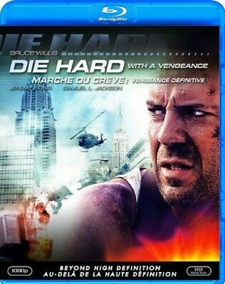 Die Hard With A Vengeance (Bruce Willis, Samuel L. Jackson) *new Blu-Ray*