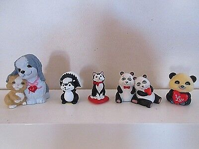 Lot Of 5  Hallmark Merry Miniatures Valentines Day