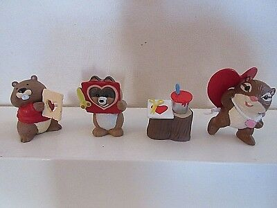 Lot Of 4  Hallmark Merry Miniatures Valentines Day