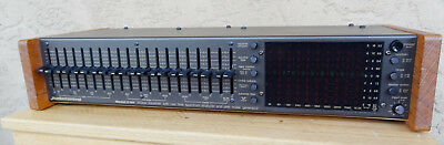 Audio Control C101 octave graphic stereo equalizer spectrum analyzer The best.