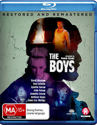 The Boys NEW Cult Blu-Ray Disc Rowan Woods David Wenham