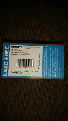 WATTS LFMMV-M1-UT Thermostatic Mixing Valve, NIB.