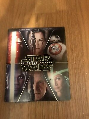 STAR WARS THE FORCE AWAKENS Blu-Ray + DVD (Target Exclusive)