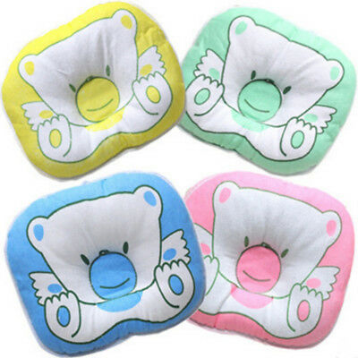 Baby Cot Pillow Preventing Flat Head Neck Syndrome for newborn Girl Boy Safe