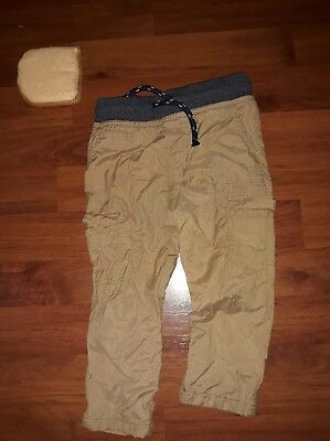 Baby/Toddler 4 Pairs of Pants!!! Khaki/Brown18-24 Months Boys! GREAT CONDITION!!