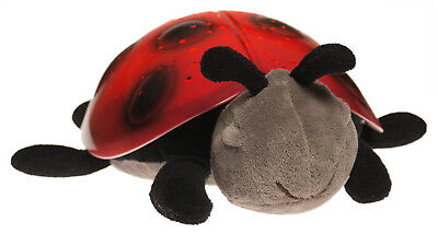 Cloud B Ladybug Twilight Buddies Starry Night Projection Night Light Red Plush