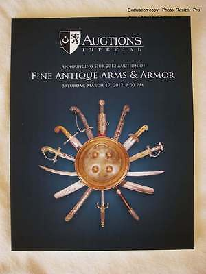 Islamic Indian Arms Armor Weapons Daggers, Swords, Shields, Axe, Catalog Book