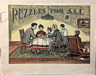 Puzzles For All - Paper Wraps - 32 Pages - Dr. Miles - Advertising Medicines